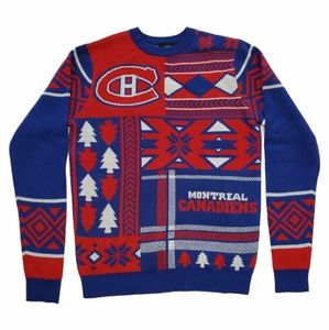 Montreal Canadians Men's Size S Knit Sweater